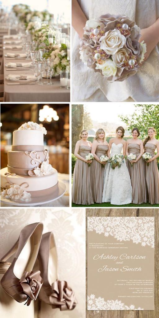 Matrimonio Tema Elegante : Matrimonio color tortora fotografo