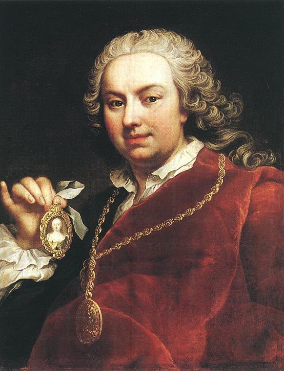 Martin Van Meytens - Self portrait 1740