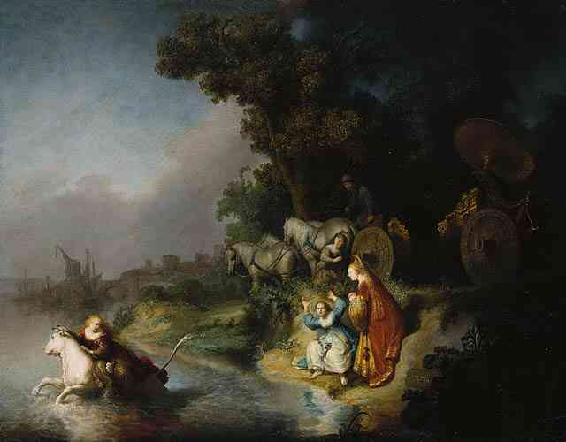 Rembrandt - Europa's kidnapping 1632 Oil on Canvass