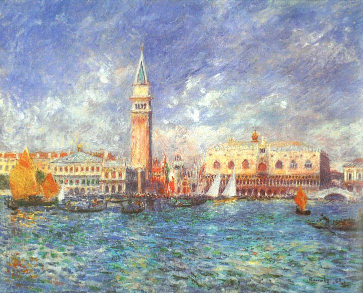 Pierre-Auguste Renoir Doges' Palace, Venice