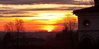 Foto tramonto udine