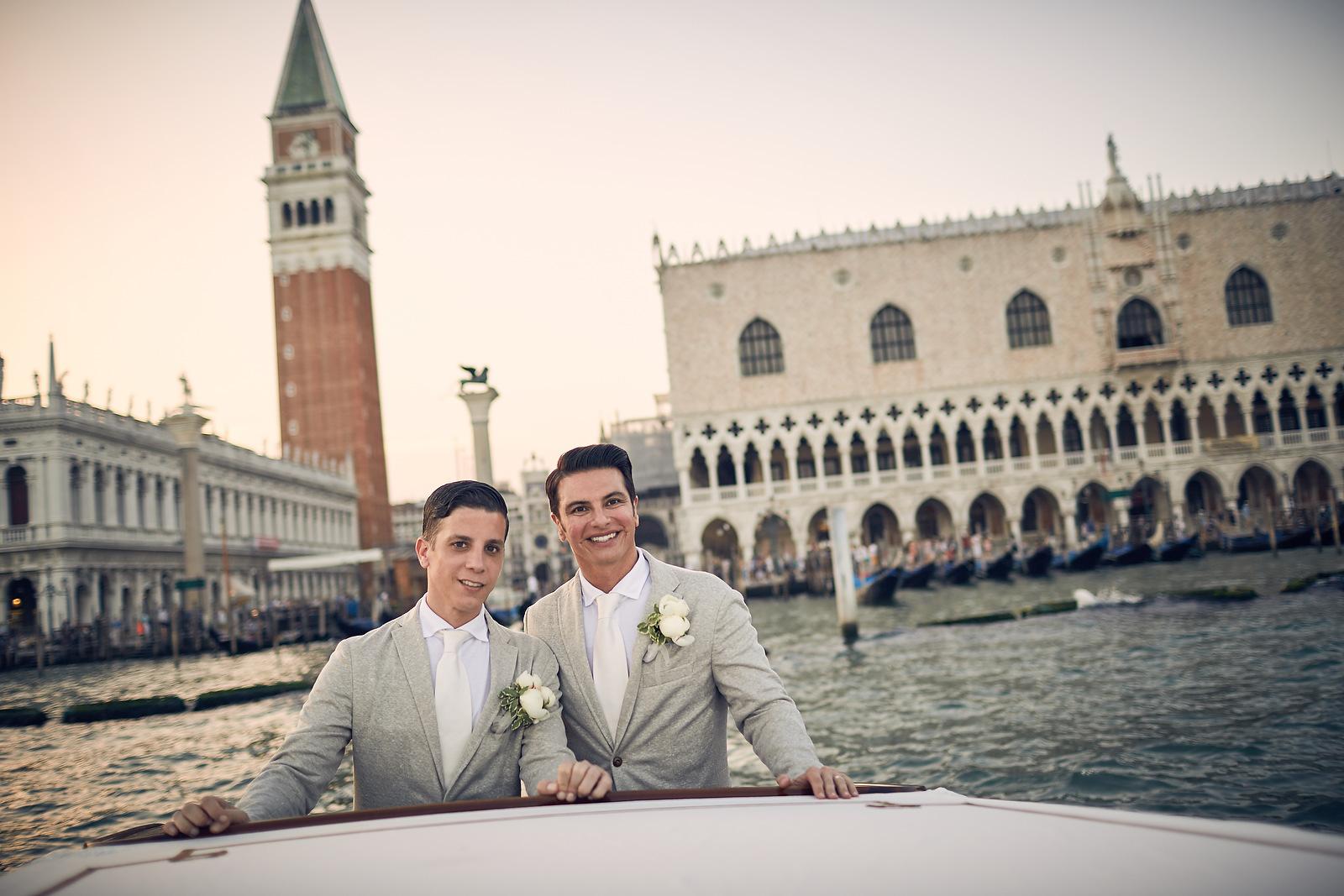 Elopement a Venezia